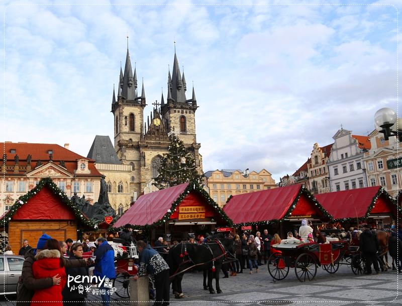 【捷克旅行】歐洲最浪漫聖誕市集~布拉格舊城廣場聖誕市集 @penny小食光輕旅行