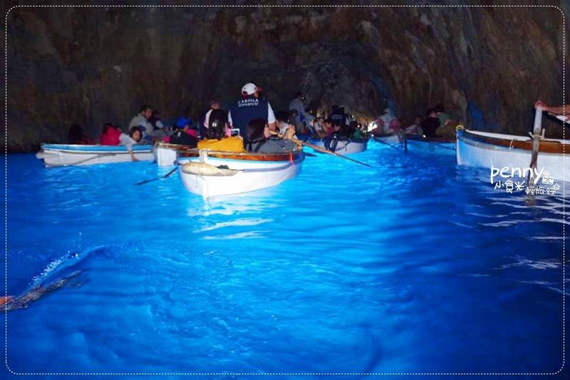 【南義旅行】遇見世上最美的藍-義大利‧卡布里島 Capri藍洞(Grotta Azzura) @penny小食光輕旅行