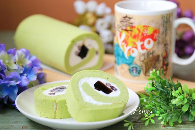 小食光|北海道生乳捲正夯‧抹茶當道,君城本家結合兩款夯品呈現美味甜品好味道 @penny小食光輕旅行