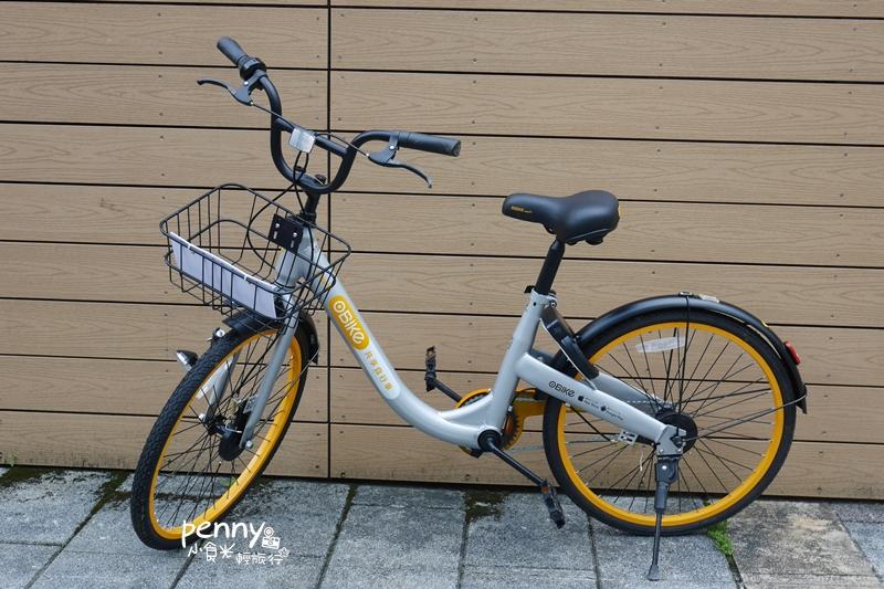 輕旅行|第一次OBIKE就上手,隨借隨還.無樁共享自行車/共享單車,行動更自由(文中提供試乘券優惠碼) @penny小食光輕旅行
