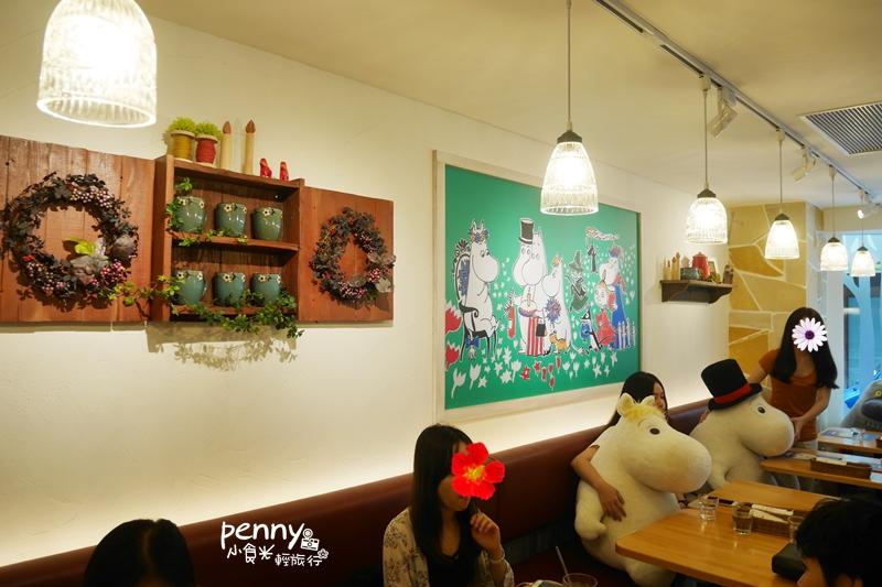 小食光|不是嚕嚕米粉絲的朝聖-嚕嚕米主題餐廳 MOOMIN CAFE