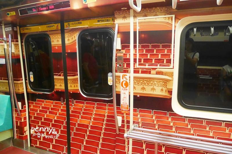 輕旅行|台北捷運淡水線‧季節限定.國家音樂廳戲劇院行動兩廳院藝文列車藝想實境NTCH x metro帶你趴趴走(附列車時刻表)