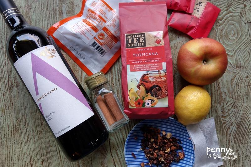 手作|超簡單香料水果熱紅酒mulled wine自己做‧冬季party‧聖誕大餐必備飲品